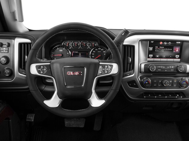2015 GMC Sierra 2500HD Prices and Values Crew Cab SLT 4WD driver's dashboard