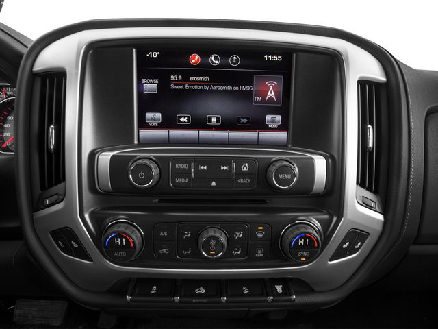 2015 GMC Sierra 2500HD Prices and Values Crew Cab SLT 4WD stereo system