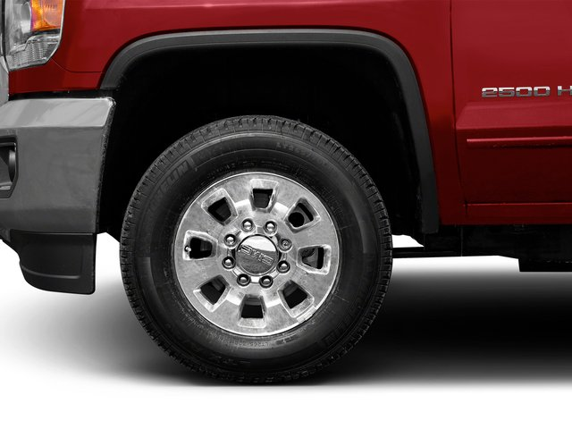 2015 GMC Sierra 2500HD Prices and Values Crew Cab SLT 4WD wheel