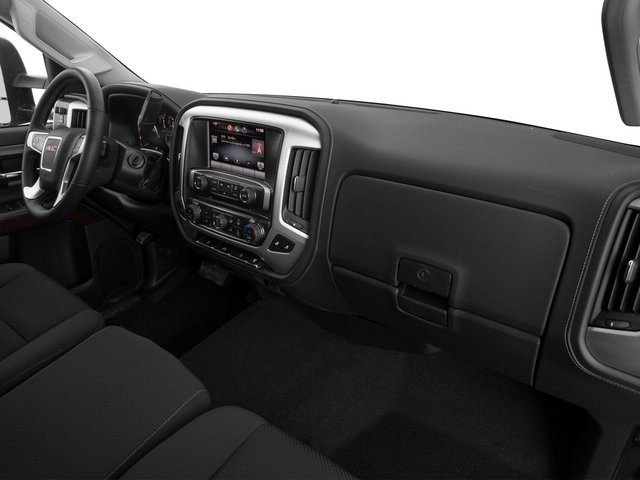 2015 GMC Sierra 2500HD Prices and Values Crew Cab SLT 4WD passenger's dashboard
