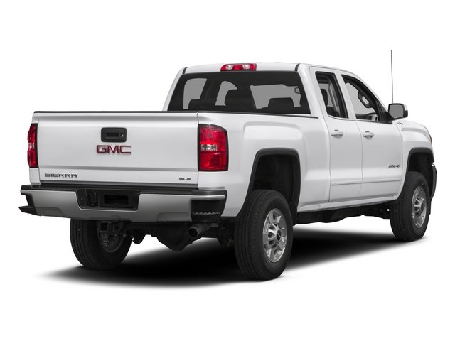 2015 GMC Sierra 2500HD Pictures Sierra 2500HD Extended Cab SLT 4WD photos side rear view