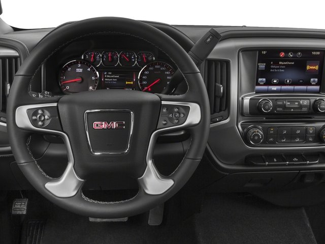 2015 GMC Sierra 2500HD Pictures Sierra 2500HD Extended Cab SLT 4WD photos driver's dashboard
