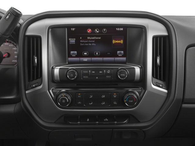 2015 GMC Sierra 2500HD Prices and Values Extended Cab SLT 4WD stereo system