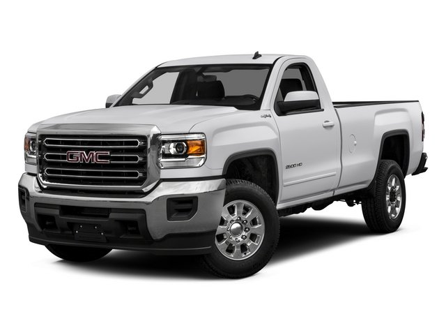 2015 GMC Sierra 2500HD Pictures Sierra 2500HD Regular Cab SLE 4WD photos side front view