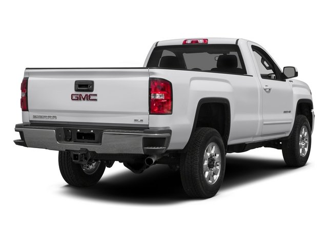 2015 GMC Sierra 2500HD Pictures Sierra 2500HD Regular Cab SLE 4WD photos side rear view