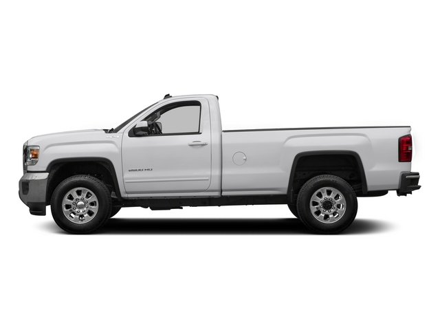 2015 GMC Sierra 2500HD Pictures Sierra 2500HD Regular Cab SLE 4WD photos side view