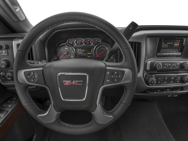 2015 GMC Sierra 2500HD Pictures Sierra 2500HD Regular Cab SLE 4WD photos driver's dashboard