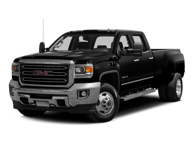 2015 GMC Sierra 3500HD Prices and Values Crew Cab Work Truck 2WD side front view