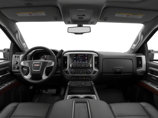 2015 GMC Sierra 3500HD Prices and Values Crew Cab SLT 4WD full dashboard
