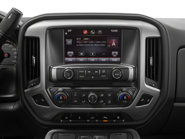2015 GMC Sierra 3500HD Prices and Values Crew Cab SLT 4WD stereo system