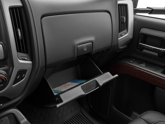 2015 GMC Sierra 3500HD Prices and Values Crew Cab SLT 4WD glove box