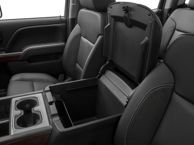 2015 GMC Sierra 3500HD Prices and Values Crew Cab SLT 4WD center storage console