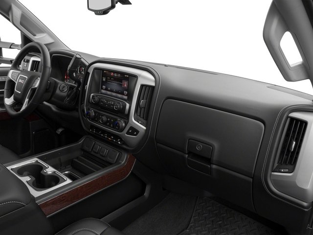 2015 GMC Sierra 3500HD Prices and Values Crew Cab SLT 4WD passenger's dashboard
