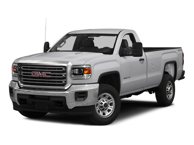 2015 GMC Sierra 3500HD Pictures Sierra 3500HD Regular Cab Work Truck 4WD photos side front view