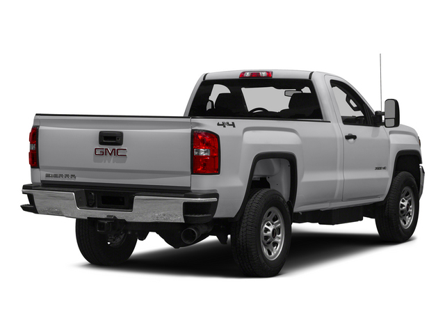 2015 GMC Sierra 3500HD Pictures Sierra 3500HD Regular Cab Work Truck 4WD photos side rear view