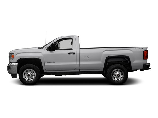 2015 GMC Sierra 3500HD Pictures Sierra 3500HD Regular Cab Work Truck 4WD photos side view