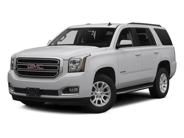 2015 GMC Yukon Prices and Values Utility 4D SLT 2WD side front view
