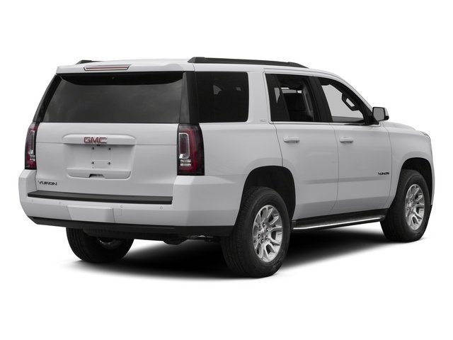 2015 GMC Yukon Prices and Values Utility 4D SLT 2WD side rear view