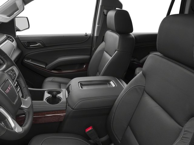 2015 GMC Yukon Prices and Values Utility 4D SLT 2WD front seat interior