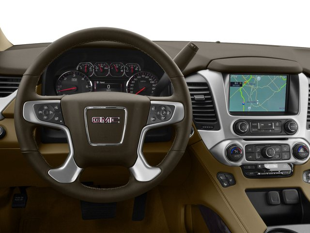 2015 GMC Yukon XL Prices and Values Utility 4D Denali 4WD driver's dashboard