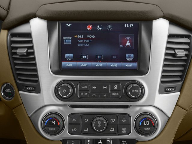 2015 GMC Yukon XL Prices and Values Utility 4D Denali 4WD stereo system