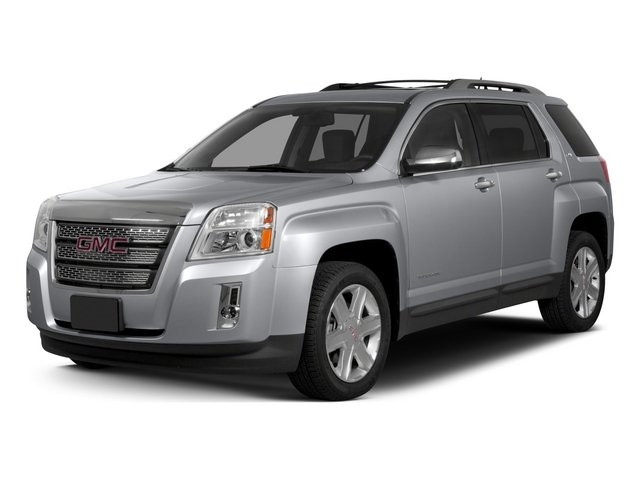 2015 GMC Terrain Prices and Values Utility 4D SLT 2WD side front view