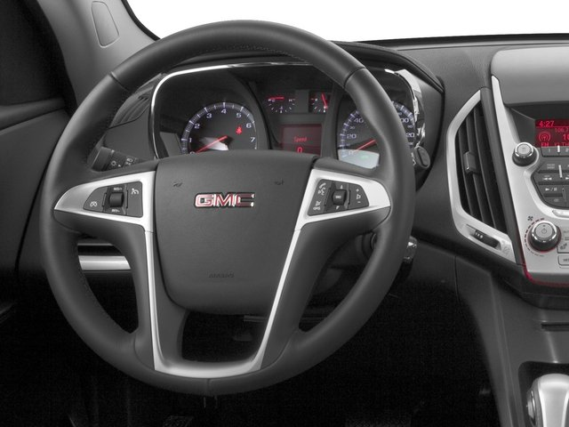 2015 GMC Terrain Prices and Values Utility 4D SLT 2WD driver's dashboard