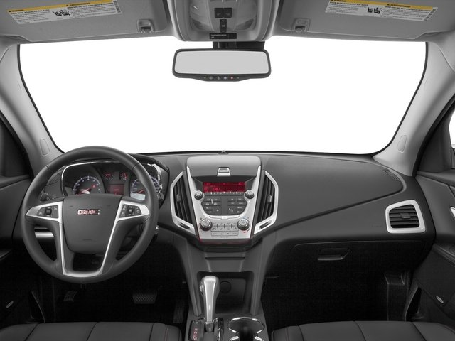 2015 GMC Terrain Prices and Values Utility 4D SLT 2WD full dashboard