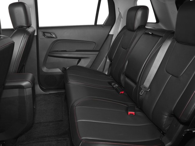 2015 GMC Terrain Prices and Values Utility 4D SLT 2WD backseat interior