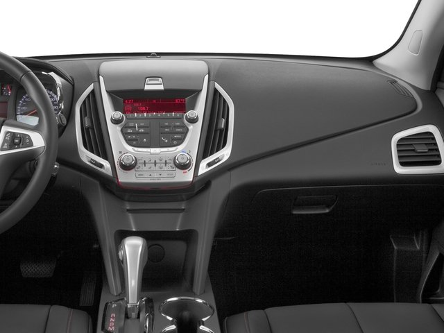 2015 GMC Terrain Prices and Values Utility 4D SLT 2WD passenger's dashboard