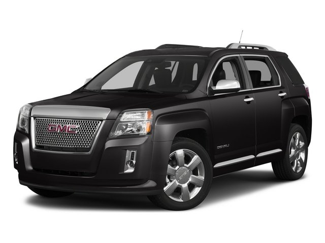 2015 GMC Terrain Prices and Values Utility 4D Denali 2WD side front view