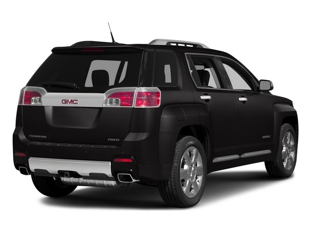 2015 GMC Terrain Prices and Values Utility 4D Denali 2WD side rear view