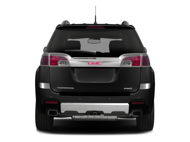 2015 GMC Terrain Prices and Values Utility 4D Denali 2WD rear view