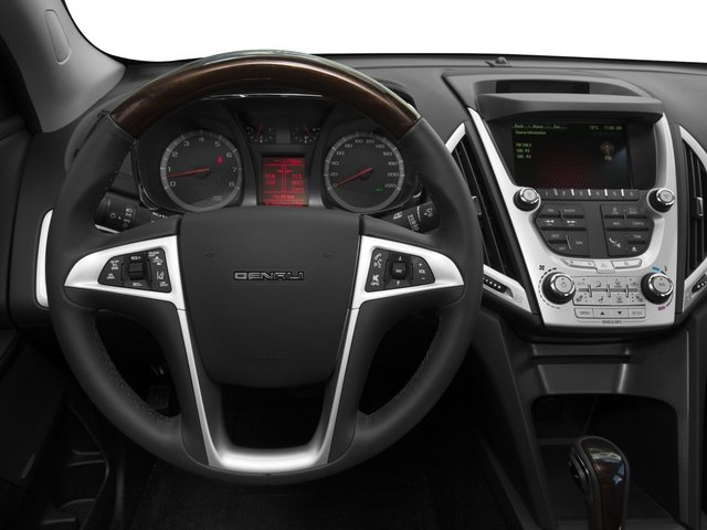 2015 GMC Terrain Prices and Values Utility 4D Denali 2WD driver's dashboard