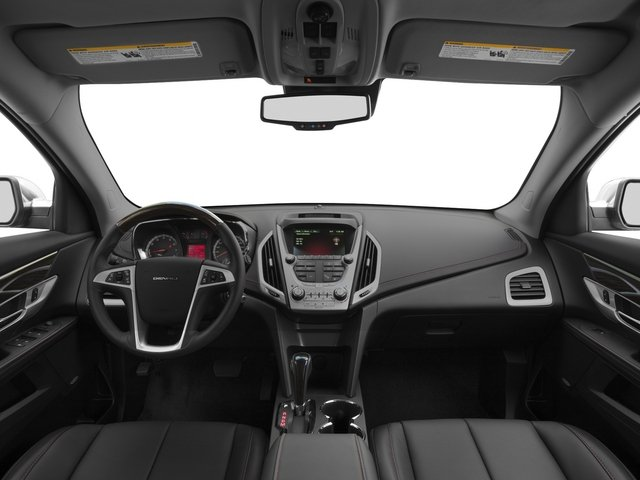 2015 GMC Terrain Prices and Values Utility 4D Denali 2WD full dashboard