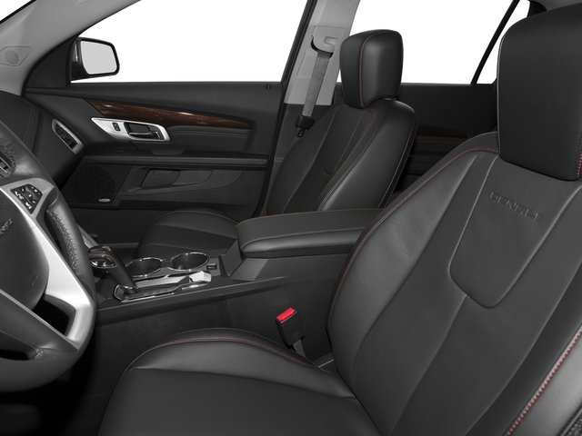 2015 GMC Terrain Prices and Values Utility 4D Denali 2WD front seat interior