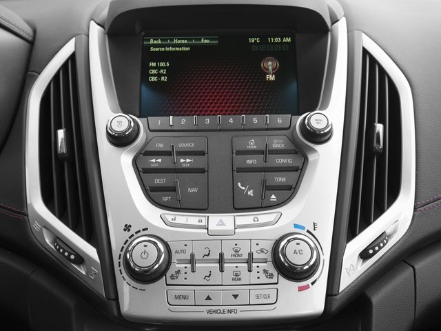 2015 GMC Terrain Prices and Values Utility 4D Denali 2WD stereo system