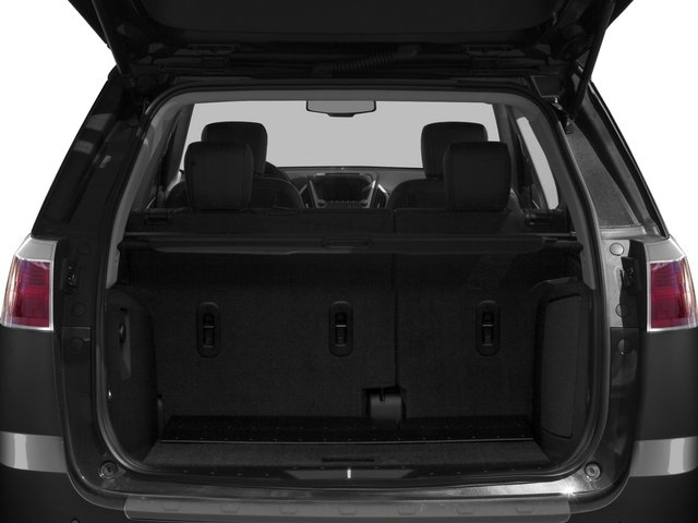 2015 GMC Terrain Prices and Values Utility 4D Denali 2WD open trunk
