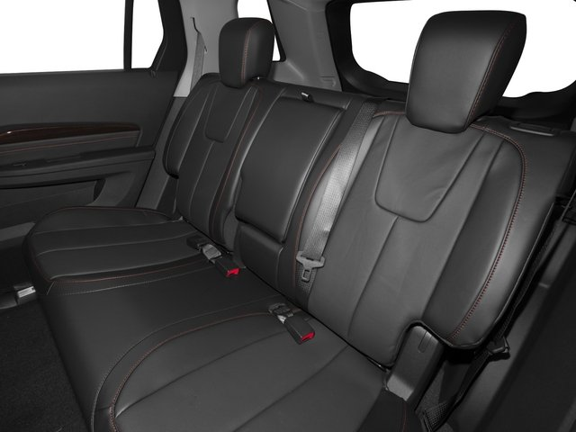 2015 GMC Terrain Prices and Values Utility 4D Denali 2WD backseat interior