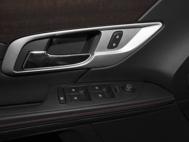 2015 GMC Terrain Prices and Values Utility 4D Denali 2WD driver's side interior controls