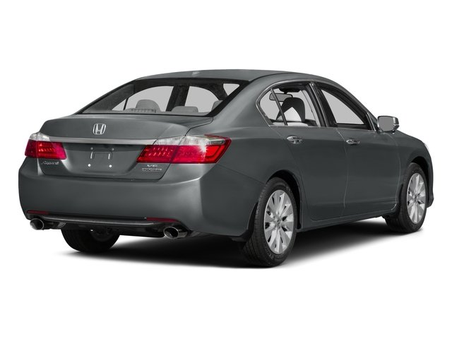 2015 Honda Accord Sedan Prices and Values Sedan 4D Touring V6 side rear view