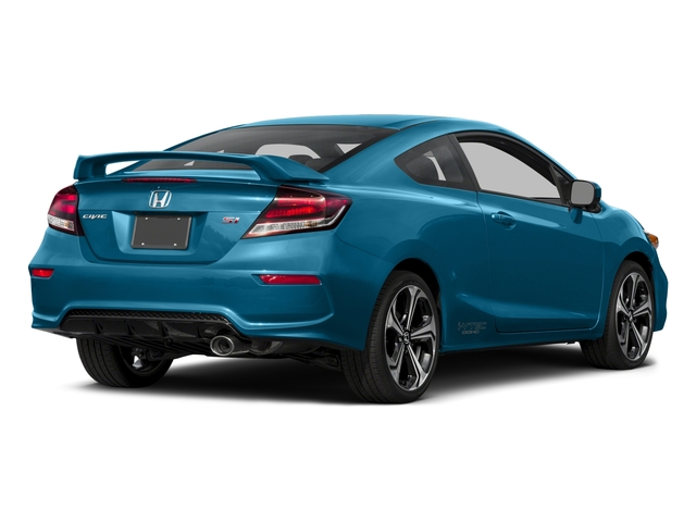 2015 Honda Civic Coupe Pictures Civic Coupe 2D Si I4 photos side rear view