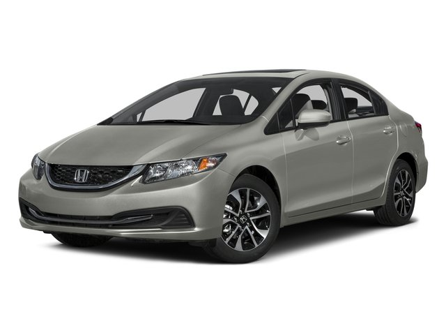 2015 Honda Civic Sedan Prices and Values Sedan 4D EX I4 side front view