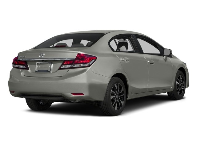 2015 Honda Civic Sedan Prices and Values Sedan 4D EX I4 side rear view