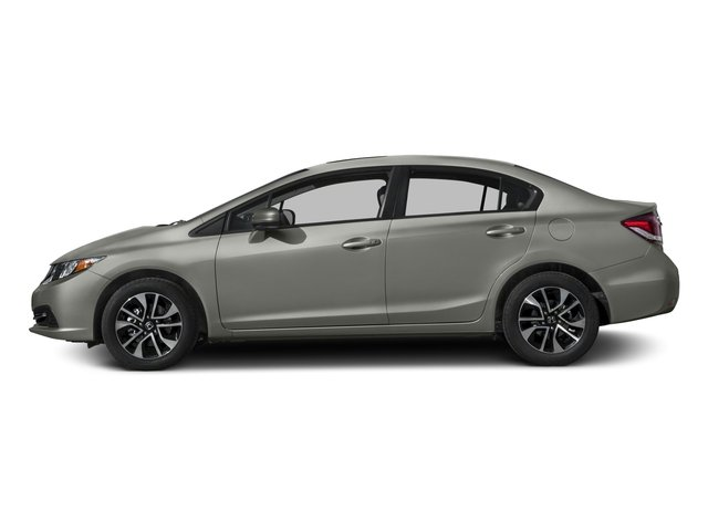 2015 Honda Civic Sedan Prices and Values Sedan 4D EX I4 side view