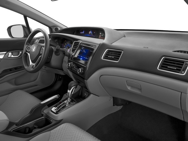 2015 Honda Civic Sedan Prices and Values Sedan 4D EX I4 passenger's dashboard