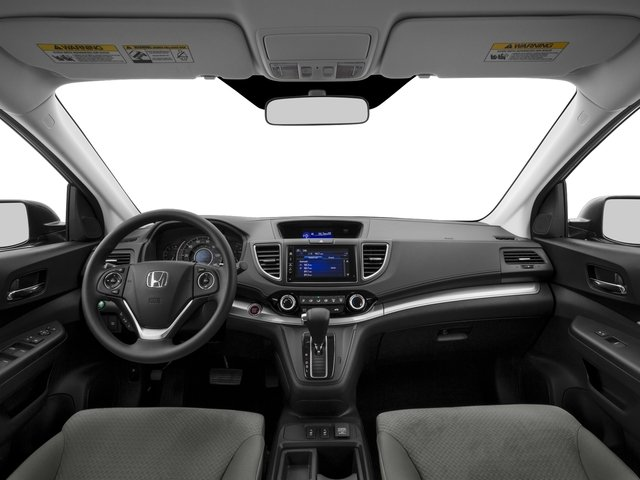 2015 Honda CR-V Prices and Values Utility 4D EX AWD I4 full dashboard