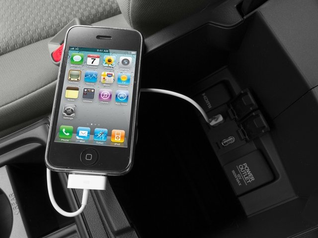 2015 Honda CR-V Prices and Values Utility 4D EX AWD I4 iPhone Interface