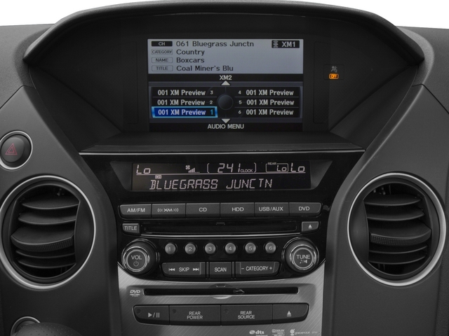 2015 Honda Pilot Prices and Values Utility 4D Touring 4WD V6 stereo system