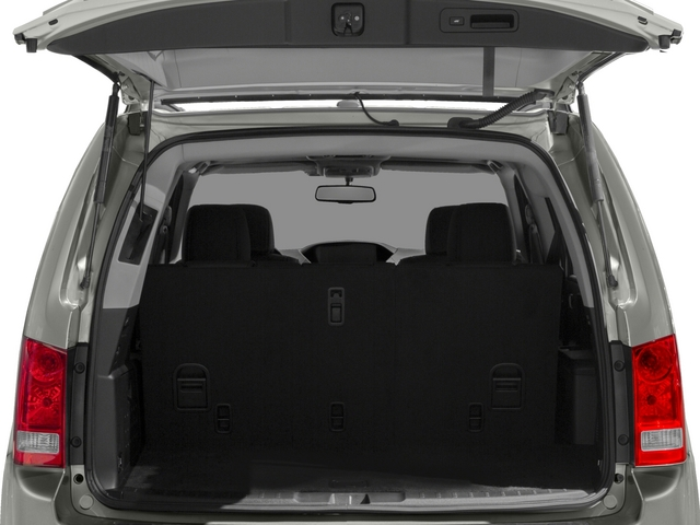 2015 Honda Pilot Prices and Values Utility 4D Touring 4WD V6 open trunk